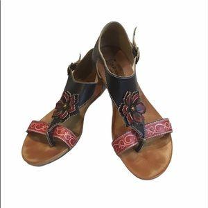 Spring Step L'Artist SE-Iberis Leather Sandal